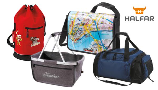 HALFAR - Taschen aus Nylon, Polyester, Filz und LKW-Plane