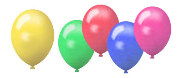 Werbeluftballons aus Naturlatex