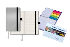 Notizbücher, Haftnotizen, Kombisets