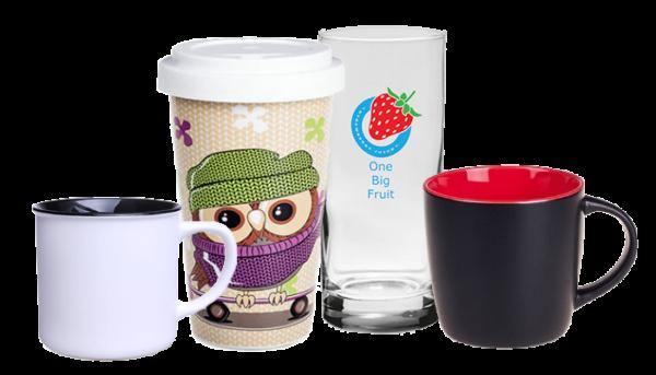 Tassen aus Porzellan, Retro-Becher, Kaffeepötte, Coffee 2-Go-Becher, Gläser
